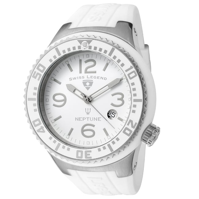 Swiss Legend Men's SL-21848P-02-WB Neptune White Watch
