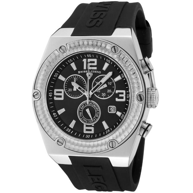 Swiss Legend Men's SL-30025-01 Throttle Black Watch