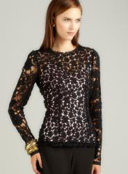 Dolce & Gabbana Lace Blouse With Cami