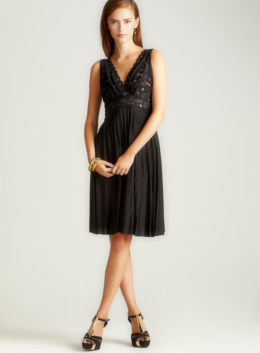 Anama Short Dress With Lace