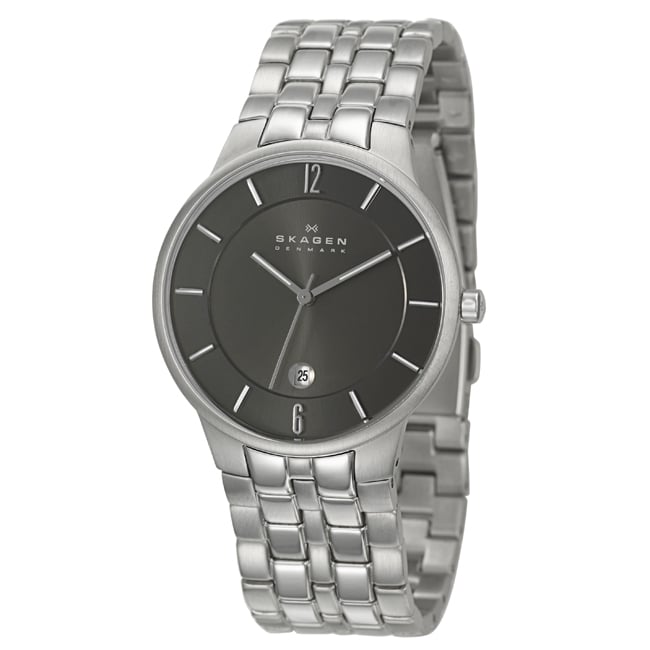 Skagen Men's 'Classic' Stainless Steel Watch