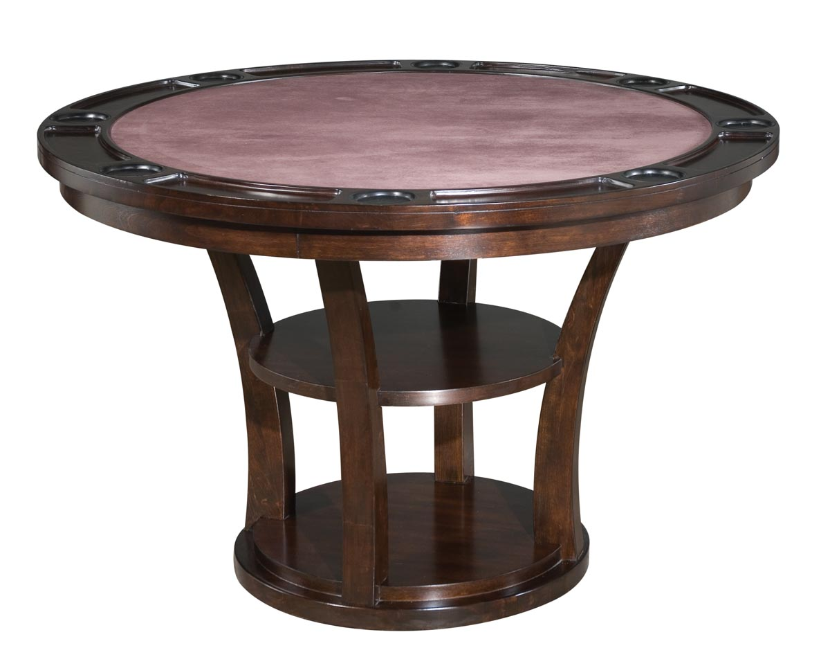 Rio Vista Game Table Espresso Finish