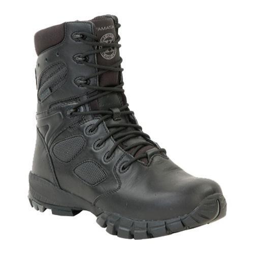 Men's Altama Footwear 8in Waterproof Ortho-TacX Black Leather