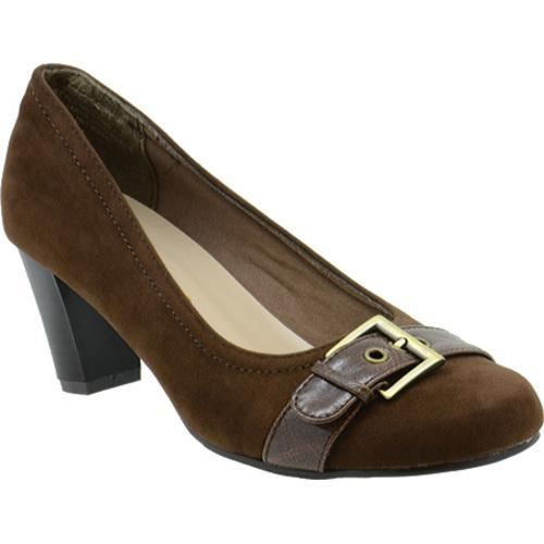 Women's Annie Patsy Brown Velvet Suede/Brown