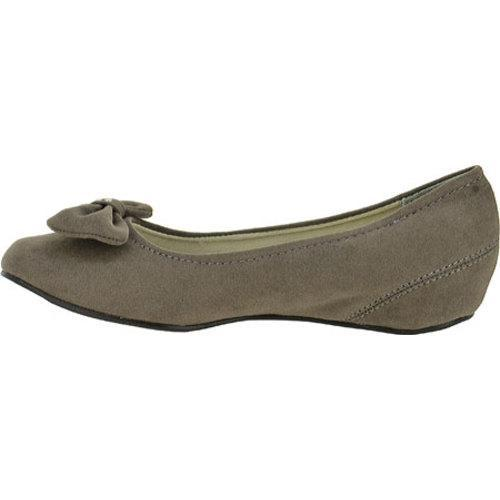 Women's Annie Timeless Grey Velvet Suede
