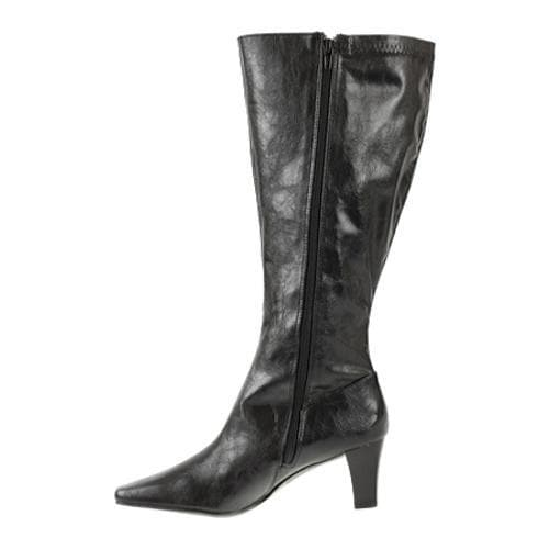 Women's Annie Timely Wide Calf Black Antique