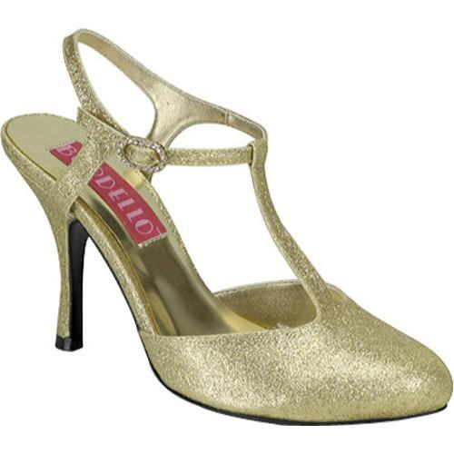 Bordello Women's Violette 12G Gold Mini Glitter