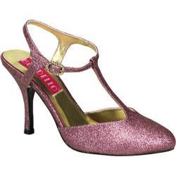 Women's Bordello Violette 12G Baby Pink Glitter