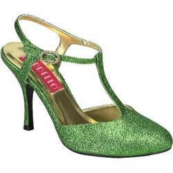 Bordello Women's Violette 12G Green Mini Glitter