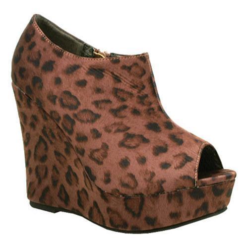 Women's Da Viccino Mona-1 Pink Leopard