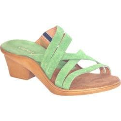 Women's Curvetures Michelle 712 Lime Suede