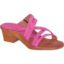 Curvetures Women's Michelle 712 Fuchsia Suede