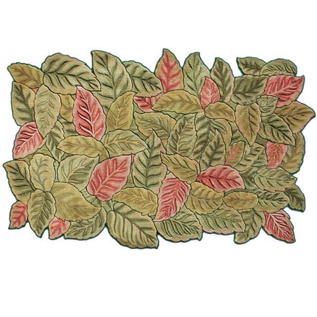 The Rug Market 'Lei Garden' Floral Rug (2.3' x 8')