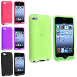 Silicone Skin Cases for Apple iPod Touch 4th Generation