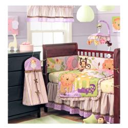 BananaFish Jungle BFF 3-piece Crib Bedding Set