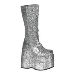 Men's Demonia Stack 301 Silver Glitter