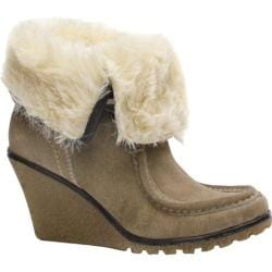 Women's Diba Flower Girl Taupe Suede