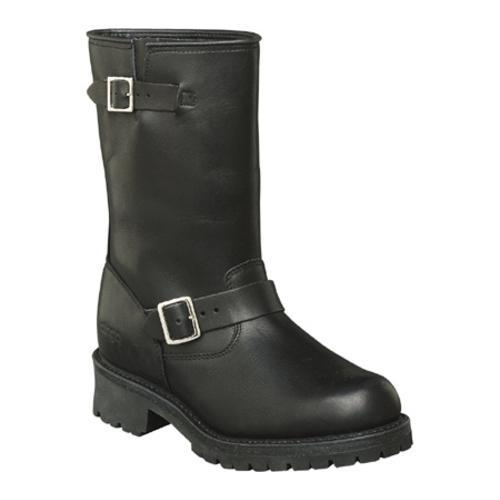 Men's Dingo Engineer Pull-On 10 Black Waxy