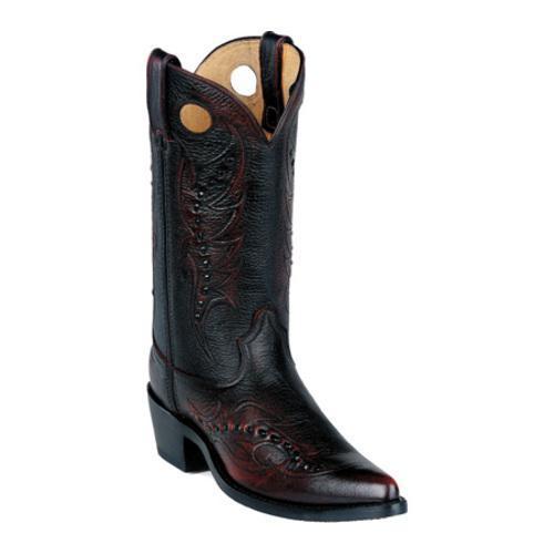 Men's Durango Boot DB585 12 Black Cherry Brush Off Leather