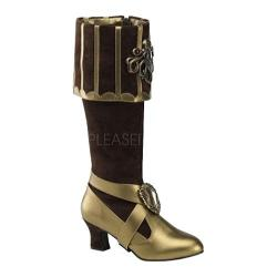 Women's Funtasma Cthulhu 299 Brown Velvet/Bronze PU