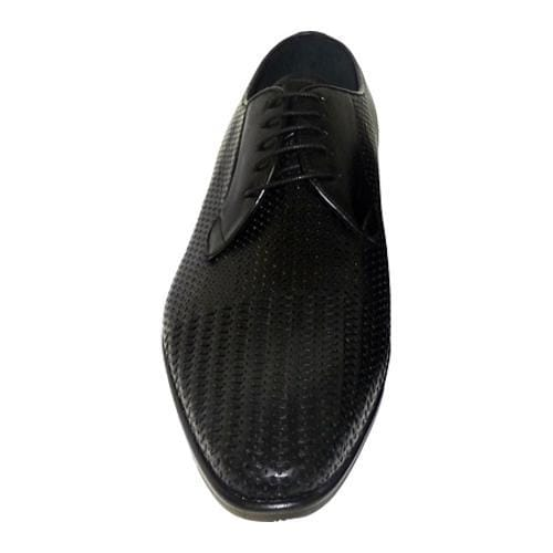 Giovanni Marquez Men's 3509 Black Leather