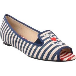 Women's J. Renee Anchor Blue/Natural Fabric