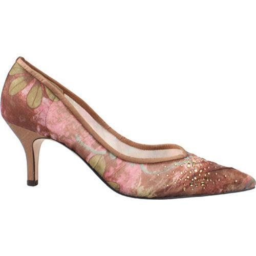 J. Renee Women's Natasha Blush Multi Fabric/Mesh