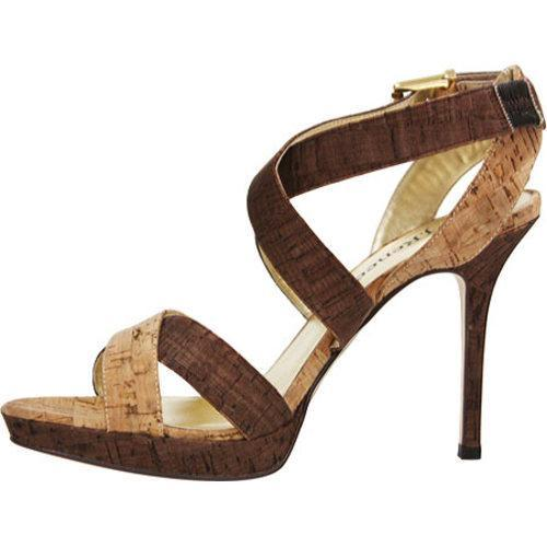 J. Renee Women's Petunia Natural/Brown Cork