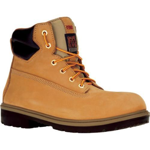 Men's Kodiak 6in Proworker Steel Toe 21 Wheat Waterproof Leather