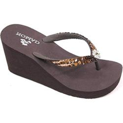 Women's Nomad Bling Brown Rubber