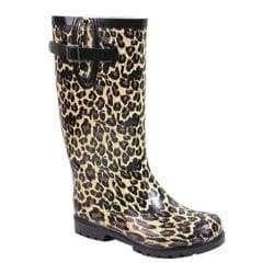 Women's Nomad Puddles Tan Leopard