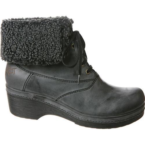 Women's OTBT Bangor Charcoal Leather