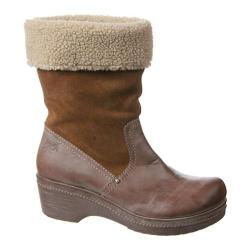 Women's OTBT Belleville Camel Leather/Fabric