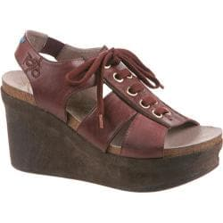 Women's OTBT Trenton Wine Leather