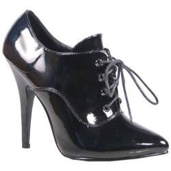 Women's Pleaser Seduce 460 Black Patent
