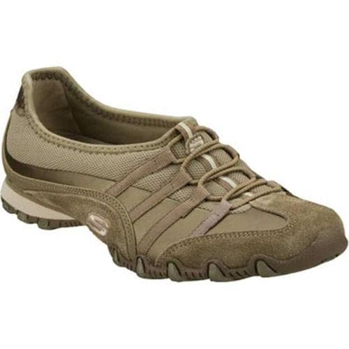 Women's Skechers Bikers Point Blank Taupe