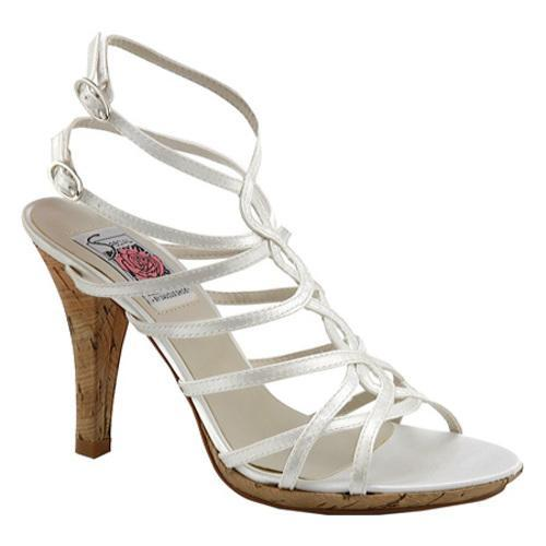 Women's Special Occasions Leah White Satin