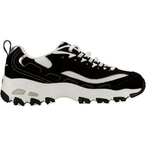 Women's Skechers D Lites Extreme Black/White