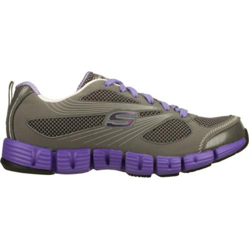 Women's Skechers Stride Gray/Purple