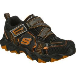 Boys' Skechers Ibex Black/Orange
