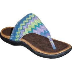 Sun Luks by Muk Luks Women's Roman Green Apple
