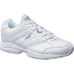 Men's Avia A325M White/Chrome Silver/Lemon Yellow