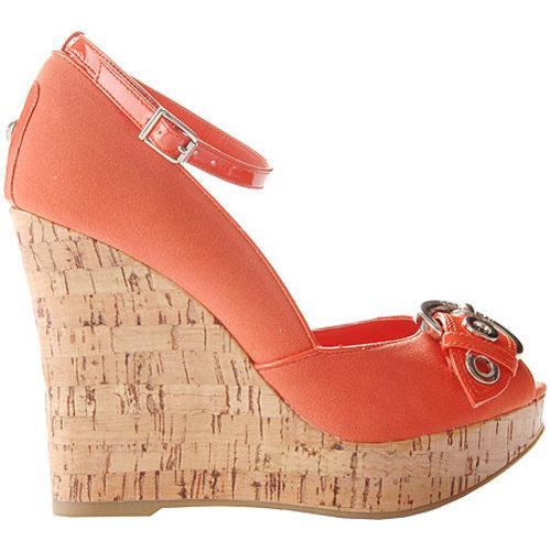 Women's BCBGirls Ramos Light Sunkist Coral/Fabric Patent
