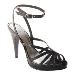 BCBGirls Women's Convy Black Colored Snake