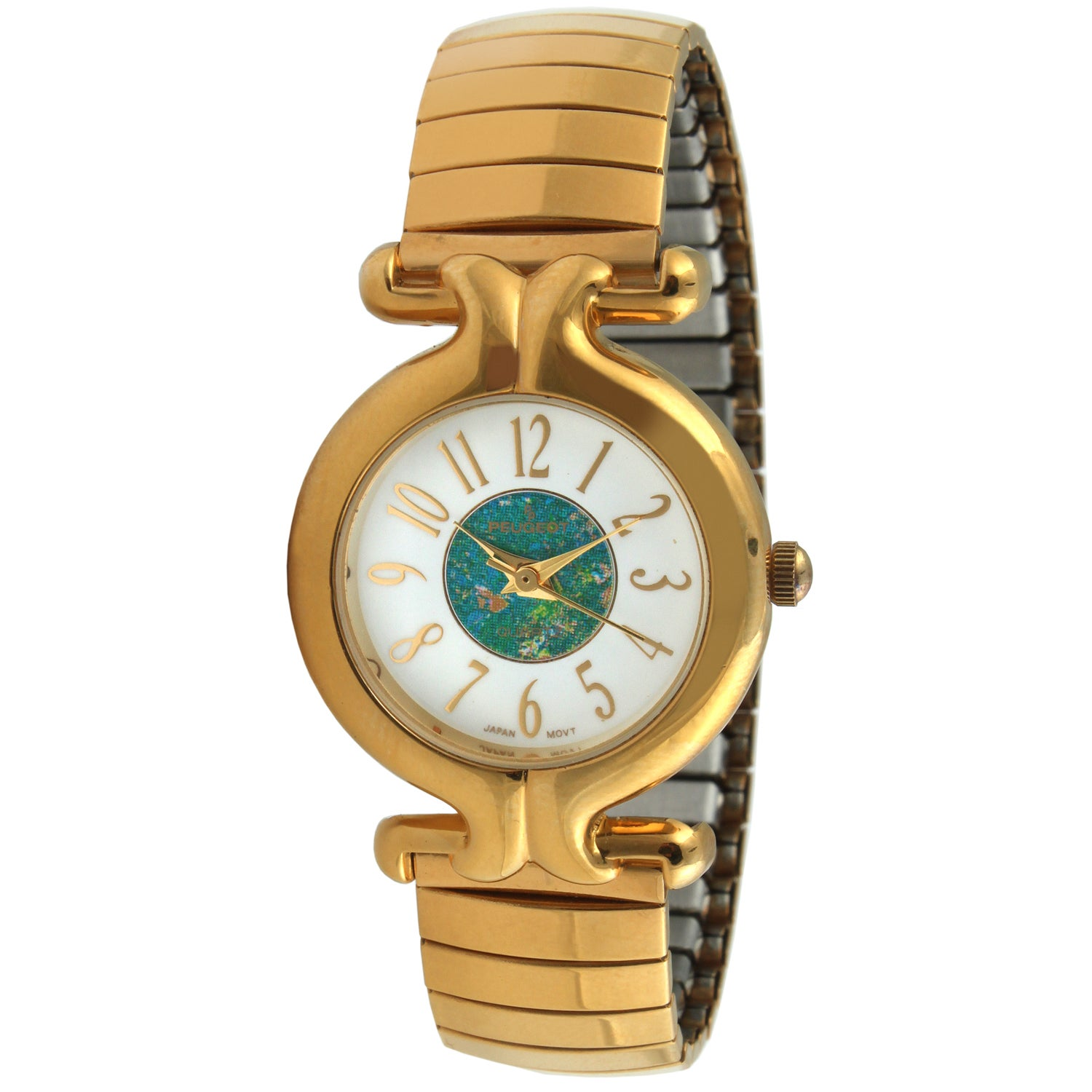 Peugeot Women's 'Expansion' Goldtone Bracelet Watch