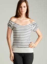 Claeson Stripe Ballet Top