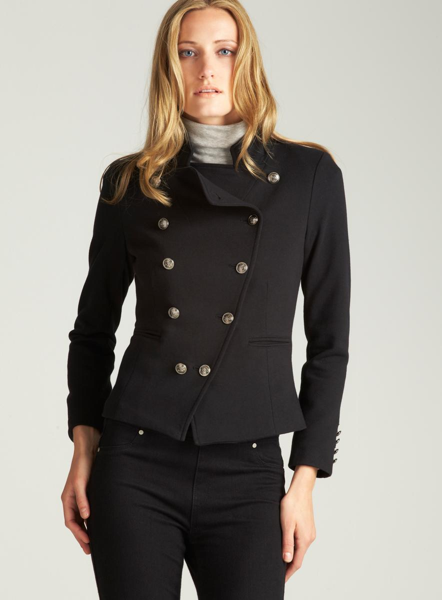 ROMEO&JULIET COUTURE Ponte Double Breasted Jacket