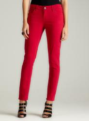 Velvet Heart Skinny Jean In Red Rose
