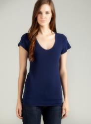 Eight Sixty Short Sleeve Scoop Neck Tee