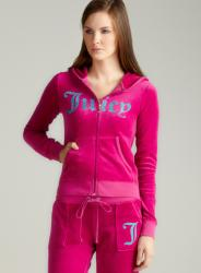 Juicy Couture L/S Hoodie With Love From Juicy